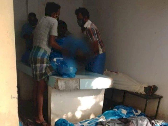 Staf RS di India Menyuruh Keluarga Mencari Satu Persatu Tubuh Saudaranya di Kamar Mayat