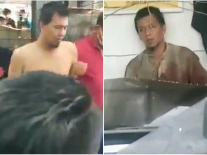 Fakta Pria Tusuk Leher Polisi di Palembang, Pakai 3 Pisau, Pura-Pura Tanya Rumah Sakit