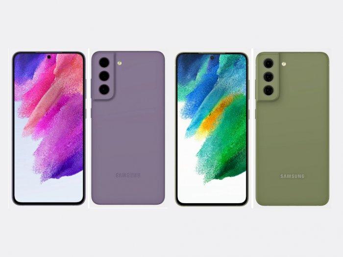 Render Samsung Galaxy S21 FE dengan Varian Warna Baru Muncul di Internet