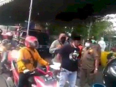 Pria Madura Ini Ngamuk di Jembatan Suramadu, Tolak Diswab & Tantang Petugas Berduel