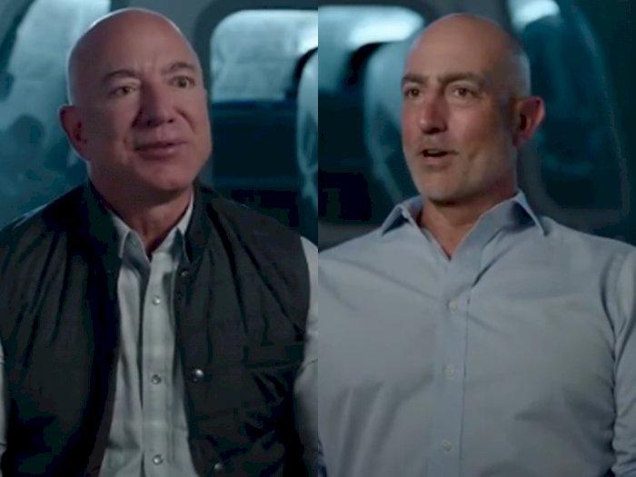 Pertama Kali, Jeff Bezos dan Adiknya Akan Terbang ke Luar Angkasa Menggunakan Bule Origin