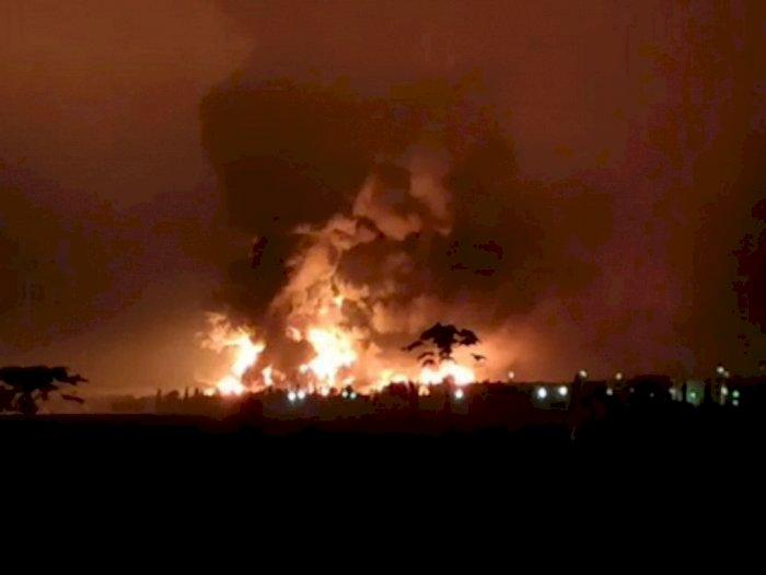 Ada Ledakan Pabrik di Gresik, 5 Orang Tewas