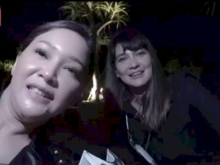 Tak Sengaja Bertemu di Bali, Luna Maya Kenalkan 'Suami' pad Maia Estianty