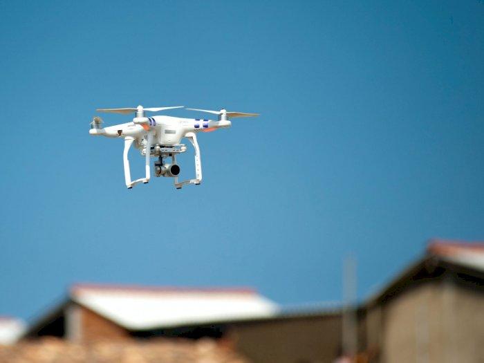 Covid-19 Menggila, Malaysia Gunakan Drone untuk Cek Suhu Tubuh
