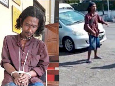 Polisi Cek Kejiwaan Pria Bergolok yang Mengamuk di Mapolres Yogyakarta
