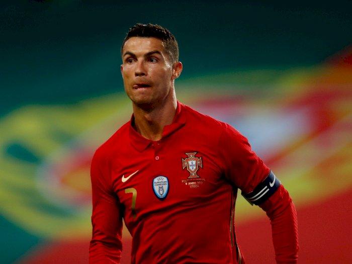 Portugal Hajar Israel Jelang Euro 2020, Ronaldo 'Melawak' Saat Ambil Tendangan Bebas