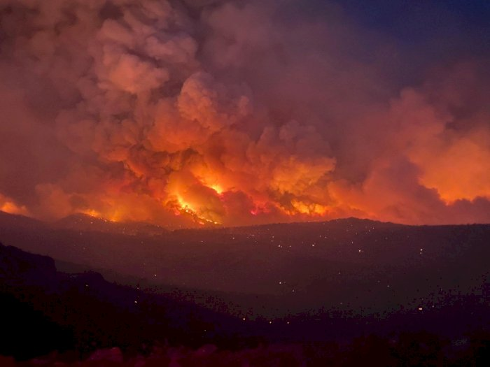 FOTO: Kebakaran Hutan di Arizona