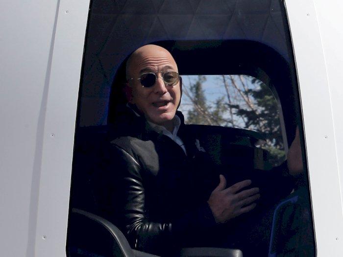 Mimpi Jeff Bezos untuk ke Luar Angkasa akan Terwujud Bulan Juli Mendatang