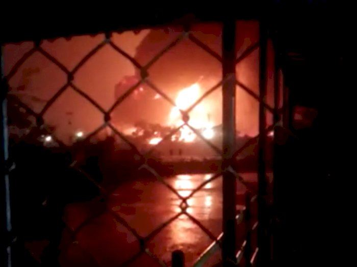 Pertamina Cilacap Sebut Tangki T39 yang Terbakar Sudah Berhasil Dipadamkan