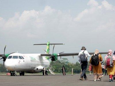 Kesan Presiden Jokowi Tiba di Bandara Jenderal Besar Soedirman Purbalingga