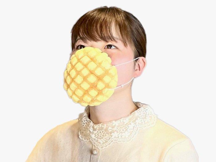 Mengenal Mask Bread, Masker Edible Pertama dengan Bentuk Roti Melon