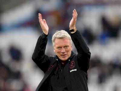 West Ham Perpanjang Kontrak David Moyes Sampai 2024