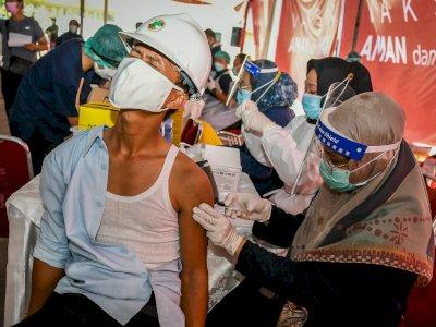 Sebanyak 20,1 Juta Penduduk Indonesia Sudah Vaksinasi COVID-19