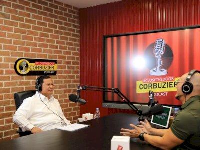 Cerita ke Deddy Corbuzier, Prabowo Sebut Banyak Unsur Rahasia di Kementerian Pertahanan