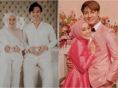 Dinda Hauw ke Rizky Billar dan Lesty: Happy Engagement Sahabatku, Lancar Sampai Hari H