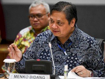 Menko Airlangga: PPKM Mikro Akan Diperpanjang 15-28 Juni 2021