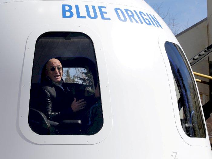 Tiket Pergi ke Luar Angkasa Bareng Jeff Bezos Berhasil Terjual Rp398 Miliar!