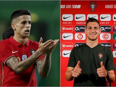 Joao Cancelo Positif Covid-19, Portugal Panggil Diogo Dalot