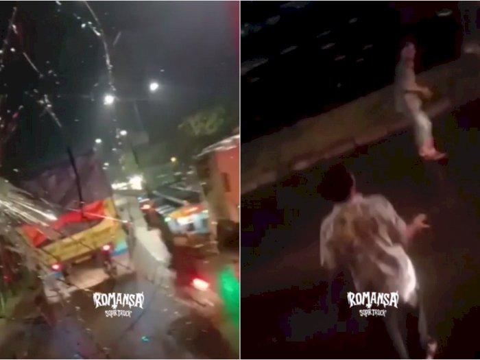 Preman Tanjung Priok Ditangkap, Mobil Truk Diserang dan Kaca Dipecahkan
