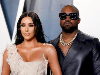 Soal Kanye West yang dikabarkan Kencani Irina Shayk, Kim Kardashian: Dia Pantas Bahagia