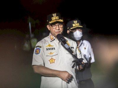 Kasus Covid-19 Naik 50% dalam Seminggu, Anies Sebut Kondisi Jakarta Mengkhawatirkan