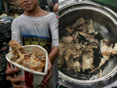 Miris! Orang-orang Miskin di Filipina Makan Daging yang Berasal dari Tempat Sampah