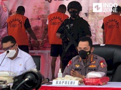 1.129 Ton Sabu yang Disita Polisi Ternyata Mau Diedarkan di Jakarta-Jabar