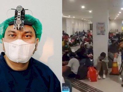 Tompi Tunjukkan Kondisi Wisma Atlet yang Penuh Pasien COVID-19: Bukan untuk Nakut-nakuti