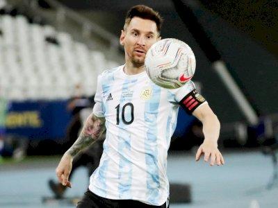 Mengintip Gol Tendangan Bebas Messi ke Gawang Chile, Free Kick ke-57-nya Sepanjang Karir