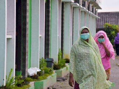 FOTO: Imigran Rohingya Jalani Isolasi di Medan