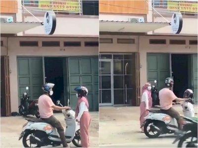 Sejoli Bertengkar di Pinggir Jalan Diduga karena Skincare, Endingnya si Cewek Ditinggal