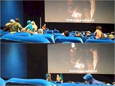 Viral, Penonton Bioskop Diduga Kesurupan Nonton The Conjuring 3, Film Sempat Dihentikan