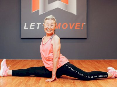 Keren! Nenek Asal Jepang Ini Jadi Instruktur Kebugaran Gym Meski Sudah Berusia 90 Tahun