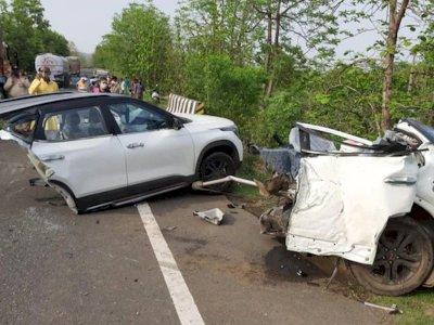 Kecelakaan Nahas Mobil Kia Seltos India, Tewaskan 3 Orang Hingga Mobil Terbelah 2 Bagian!