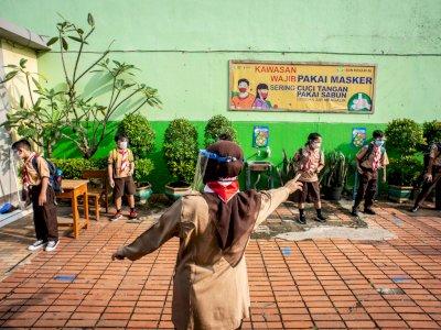 Guru dan Kepsek Positif Covid-19, 1 SD di Jakarta Sempat Ditutup