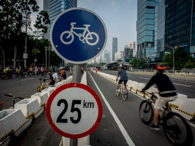 Kapolri Setuju Bongkar Jalur Sepeda Permanen Sudirman-Thamrin, Begini Respon Wagub DKI
