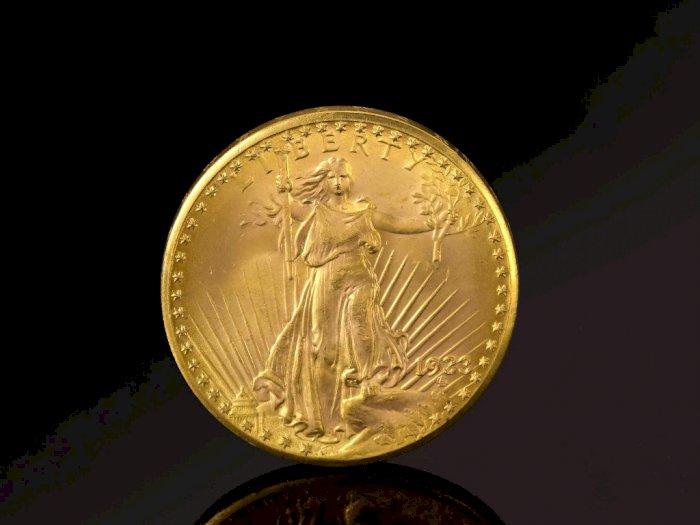 Koin Double Eagle Ini Berhasil Terjual US$18,9 Juta di Pelelangan
