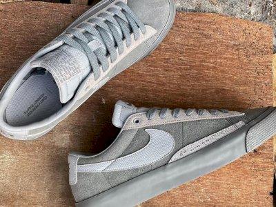 Melihat Tampilan Pertama Snaker Nike SB Blazer Low dengan FORTY PERCENT AGAINST RIGHTS