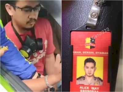 Pria yang Viral Ngaku Polisi dan Pakai Nopol Palsu Kini Ditetapkan Jadi Tersangka