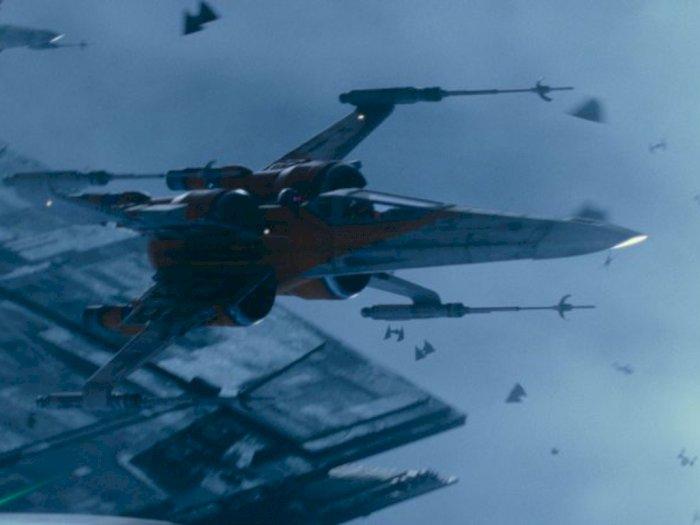 Pesawat X-Wing Starfighter Milik Star Wars akan Dipajangkan di Museum