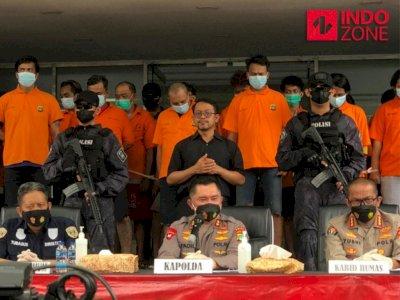 Uang Ratusan Juta Hasil Pungli Disita Polisi Pasca Penangkapan 24 Pelaku di Tanjung Priok