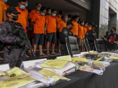 Polisi Bongkar Data Hasil Penangkapan Preman-Pungli di Indonesia, Jumlahnya 8.000 Lebih