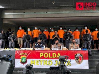 24 Pelaku Pungli yang Diciduk Polda Metro Ternyata Pakai Modus Asmoro