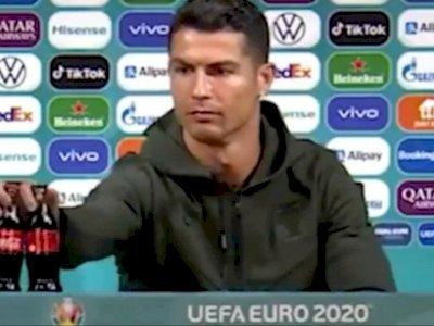 Sempat Jadi Bintang Iklan Coca-Cola, Ronaldo Disebut Munafik