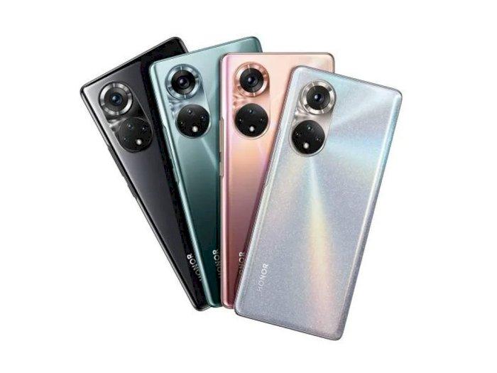 Honor 50 Resmi Meluncur, Mirip Huawei P50 Tapi Sudah Ada Layanan Google-nya