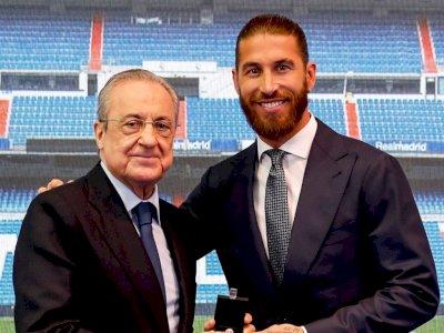 Florentino Perez ke Sergio Ramos: Real Madrid akan Selalu Jadi Rumahmu