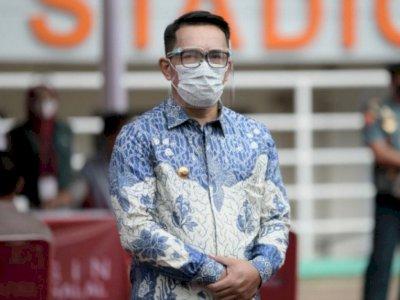 Gubernur Jabar Ridwan Kamil Minta Maaf Atas Kerumunan Vaksinasi di Stadion GBLA