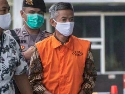 KPK Jebloskan Wahyu Setiawan ke Lapas Kedungpane Semarang