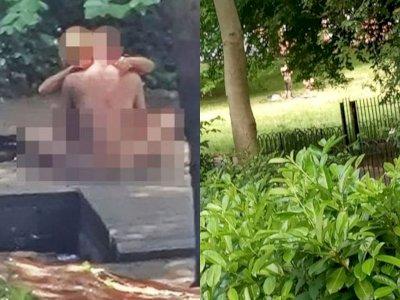 Pasangan Ini Nekat Berhubungan Seks di Sebuah Taman pada Siang Hari, Aksinya Terekam