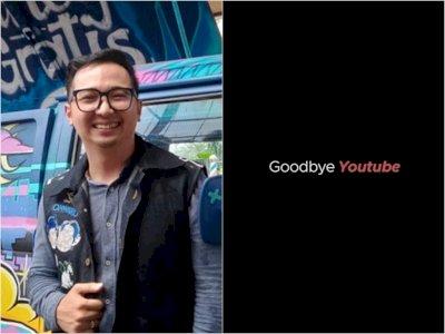 12 Tahun Bekarya di Youtube, Edho Zell Akhirnya Ucapkan Selamat Tinggal